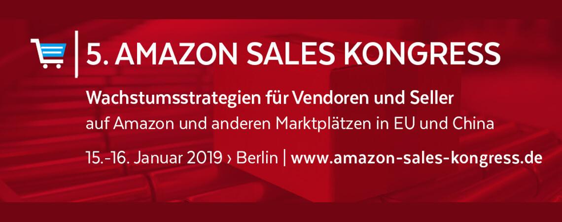 Logo des Amazon Sales Kongresses