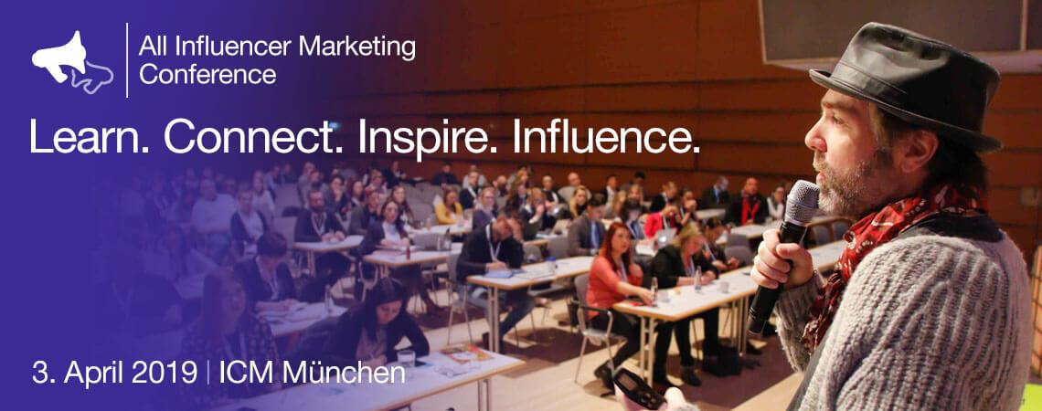 Speaker auf der All Influencer Marketing Conference