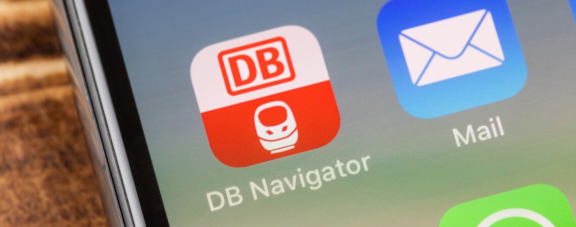 App Deutsche Bahn