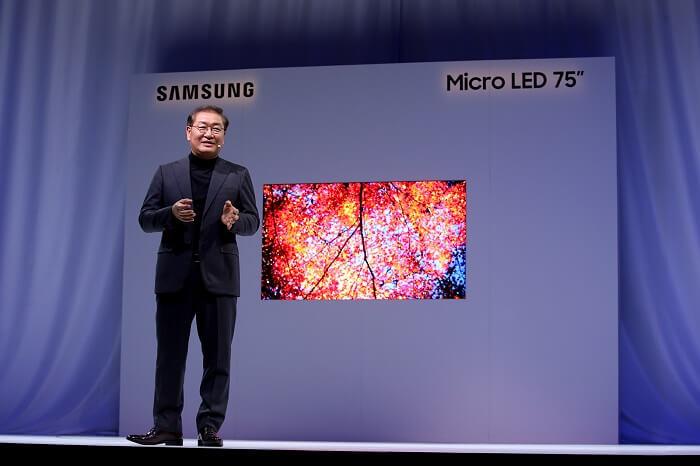 Samsung Micro-LED-TV