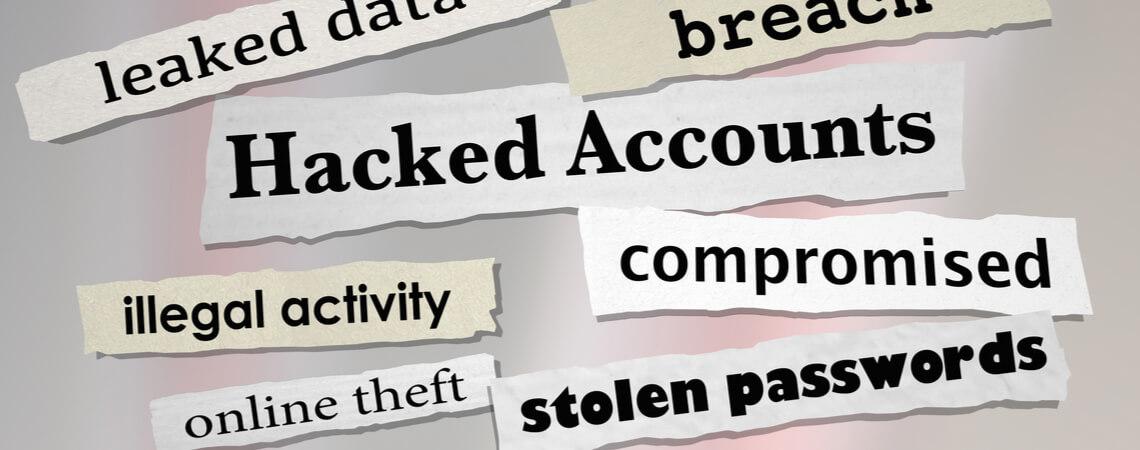 Passwort gestohlen Text