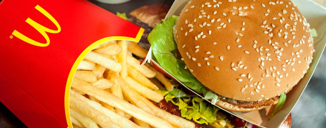 Big Mac Menü bei McDonald's