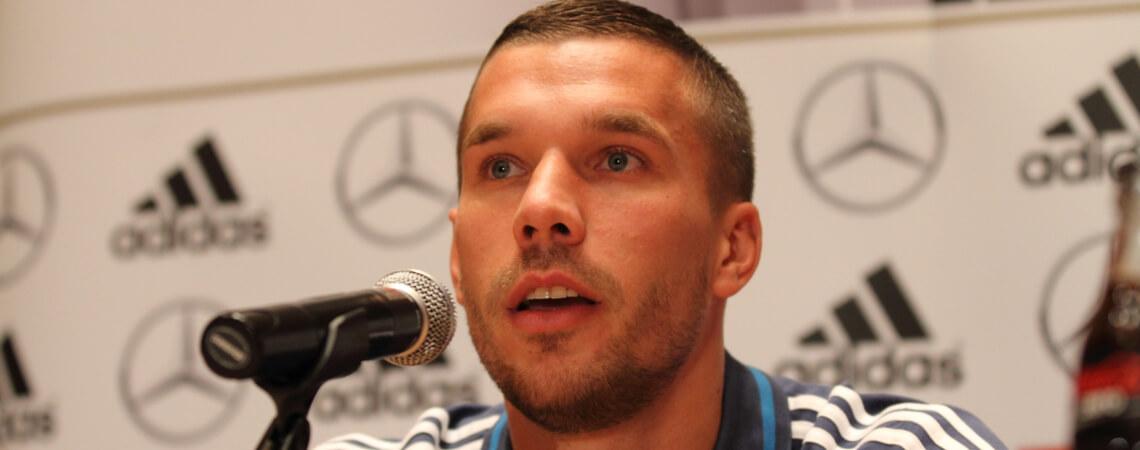 Lukas Podolski Pressekonferenz