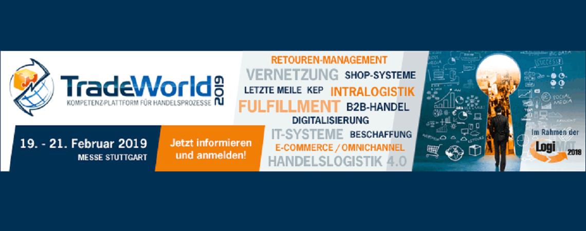 TradeWorld Ankündigung 19.-21.02. Stuttgart