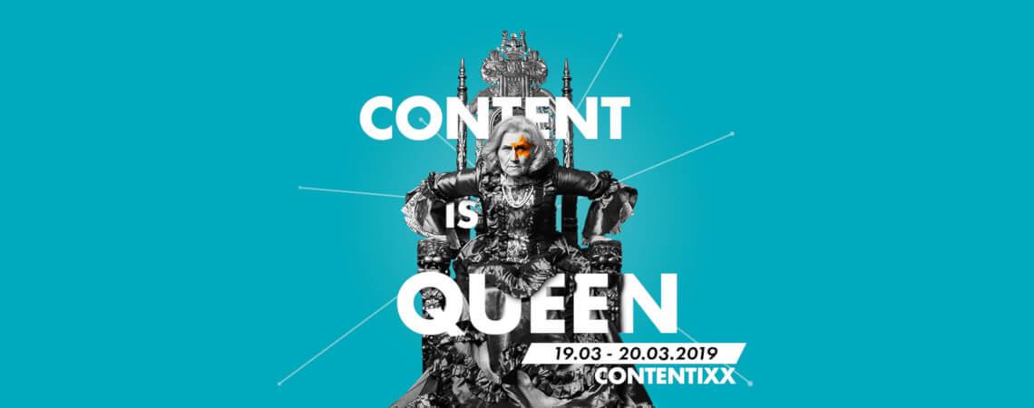 Content-Marketing-Veranstaltung: Contentixx 2019