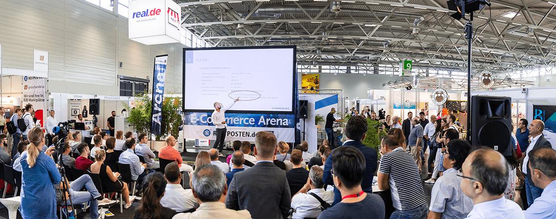 Foto der E-Commerce-Arena