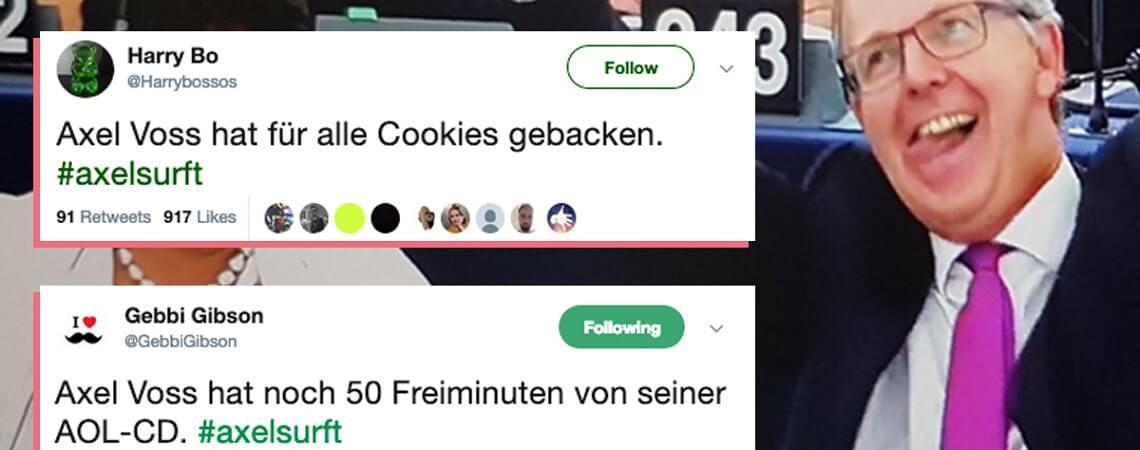 #Axelsurft-Tweets
