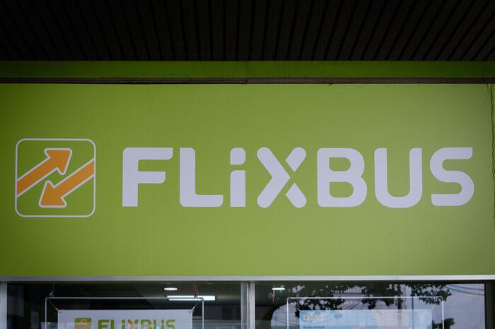 Flixbus Schriftzug