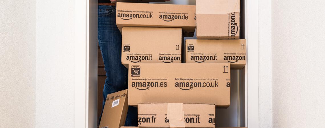 Viele Amazonpakete