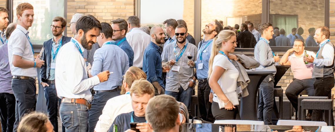 Menschen auf einer Business-Veranstaltung