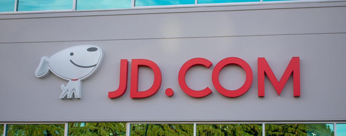 JD.com Schriftzug
