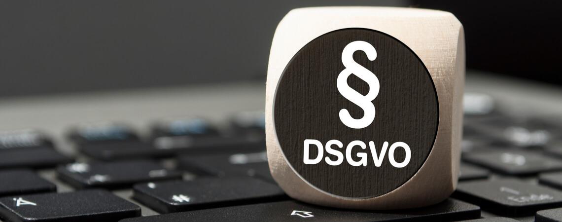 DSGVO auf Würfel