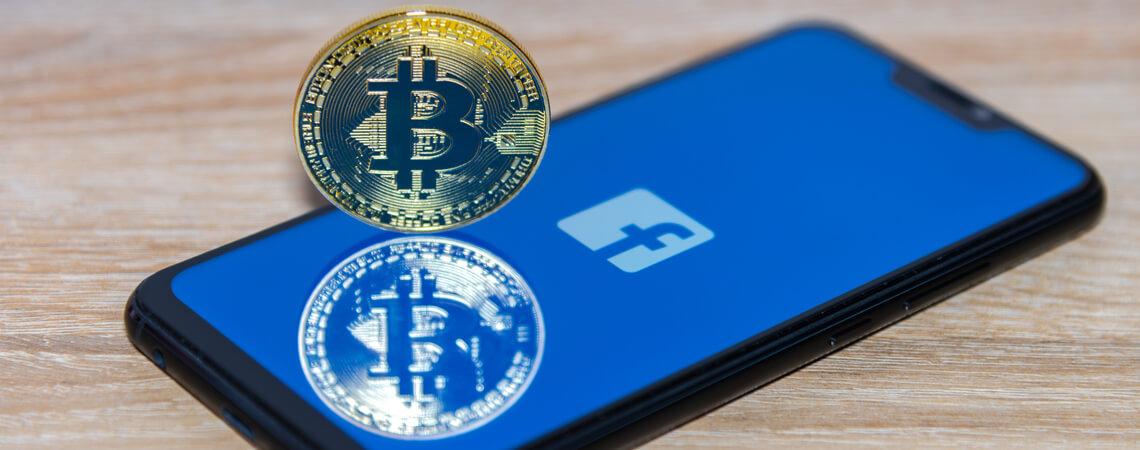 Facebook-Smartphone mit Bitcoin