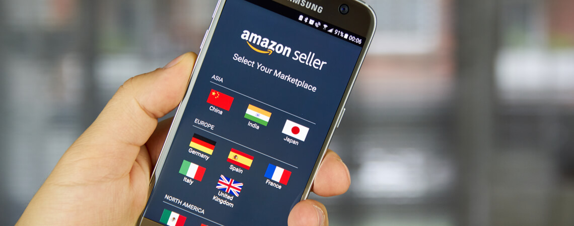 Amazon Seller Marktplatz Länder