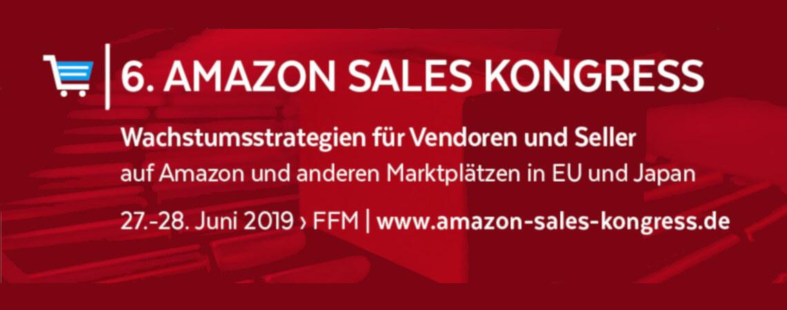Banner zum Amazon Sales Kongress