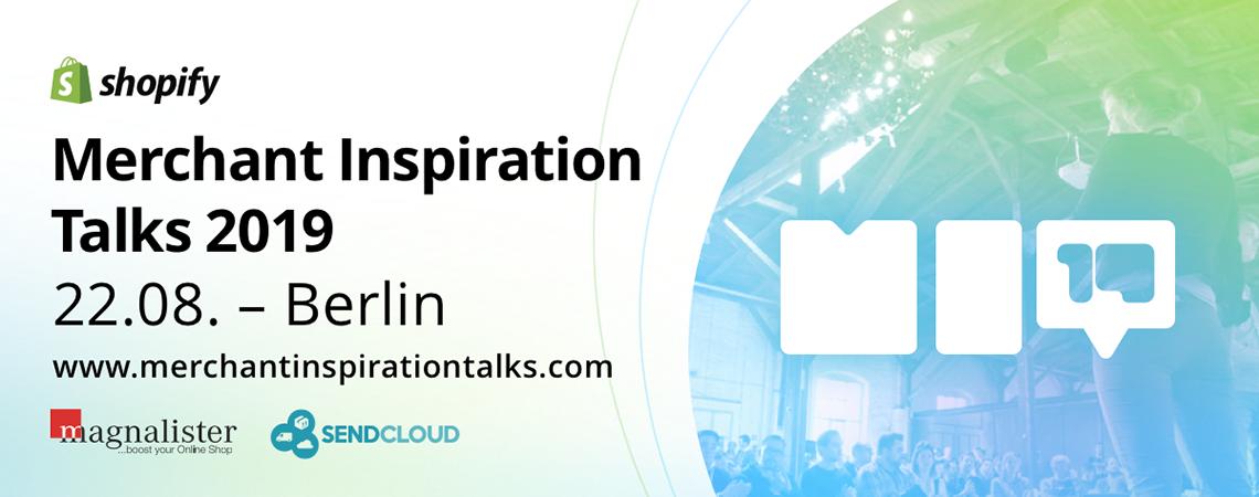 Merchant Inspiration Talks