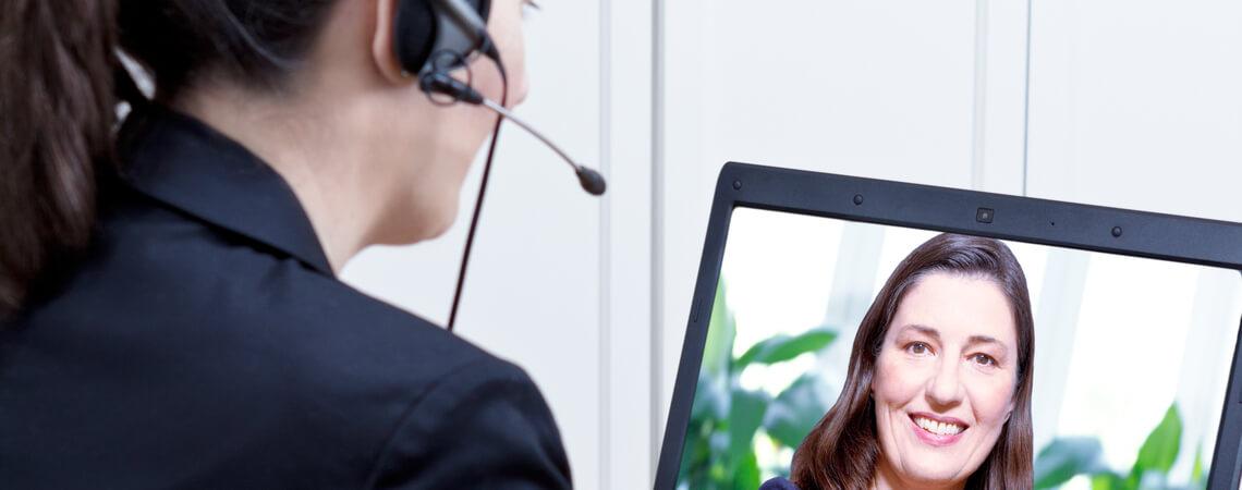 Kundenservice per Video