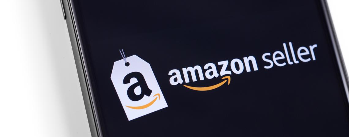 Amazon Seller auf Smartphone