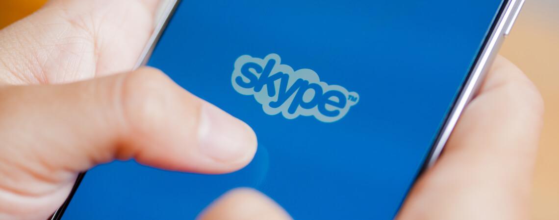 Skype auf Smartphone