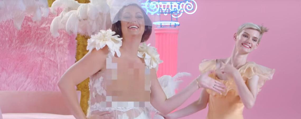Celeste Barber in Klarnas neuem Werbespot