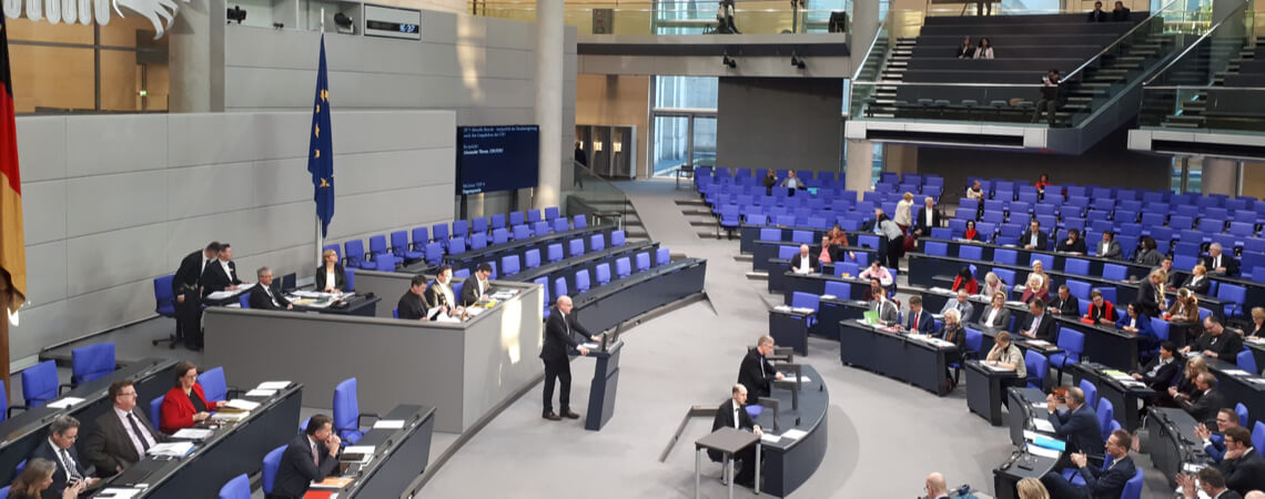 Tagung im Bundestag