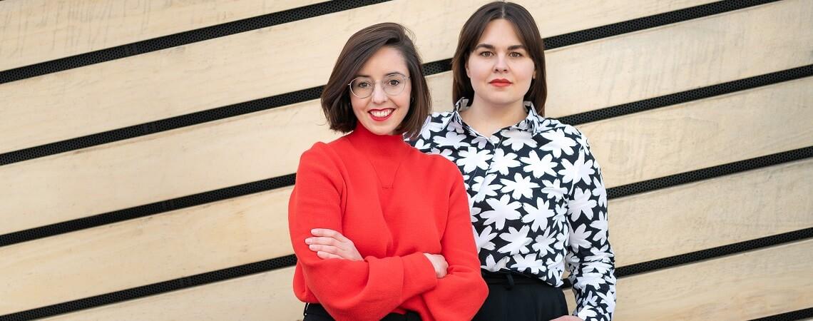 Unown-Gründerinnen Tina Spießmacher und Linda Ahrens