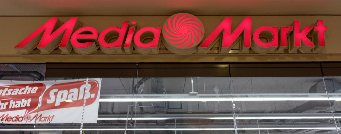 Media Markt Geschäftseingang Logo
