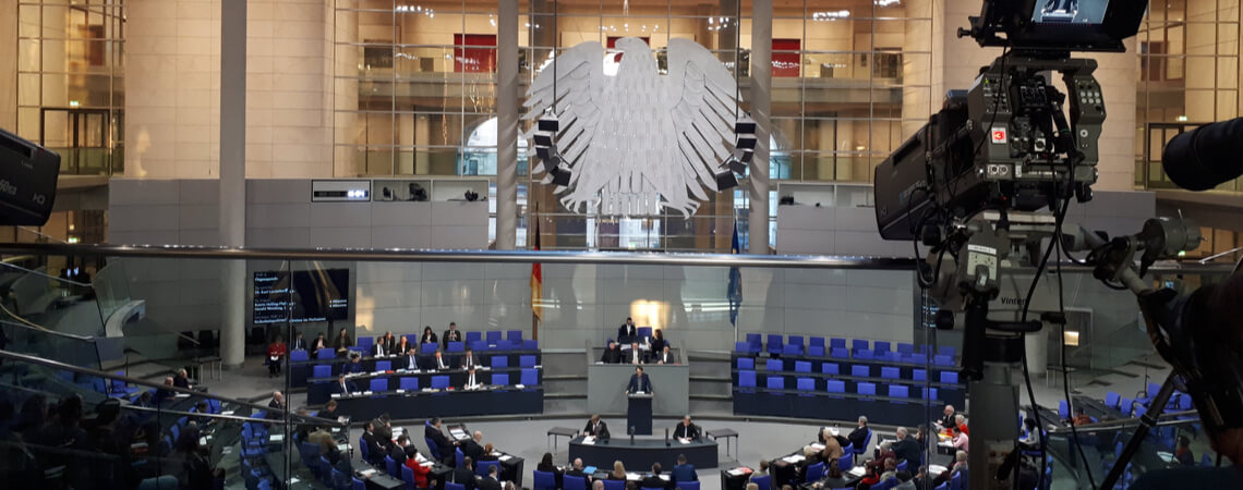 Bundestag Innenaufnahme