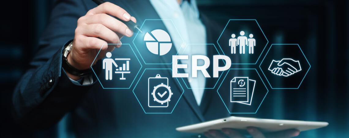 ERP-System Symbolbild