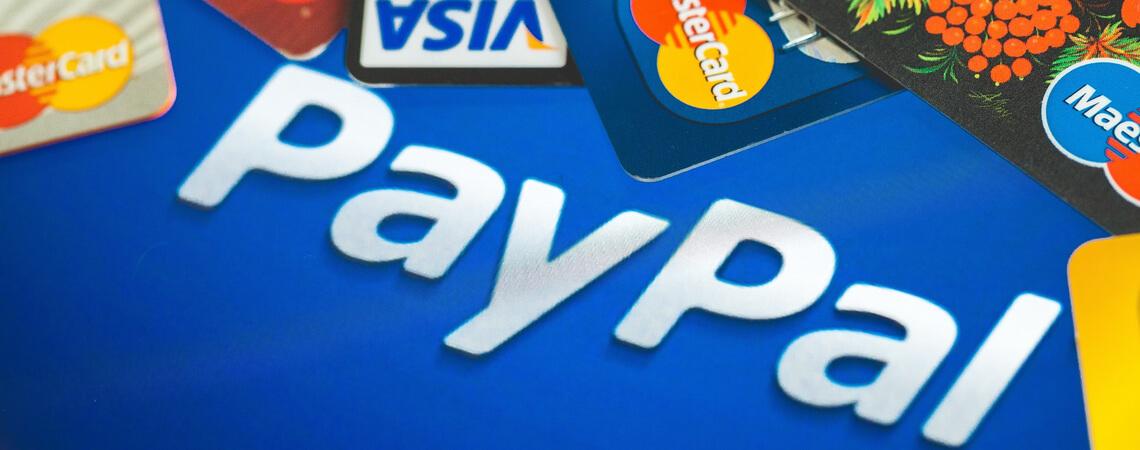 PayPal mit Kreditkarten