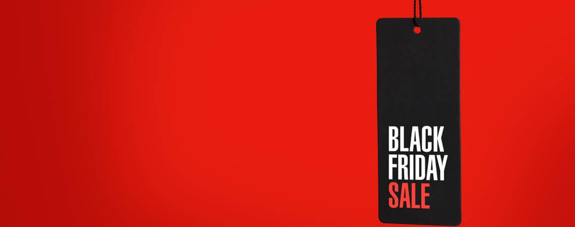 Black Friday Sale Schild