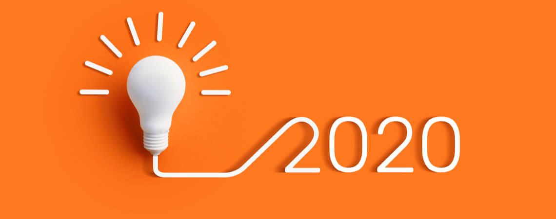 Licht geht auf 2020