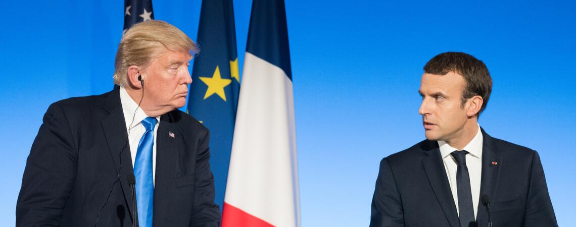 Trump und Macron