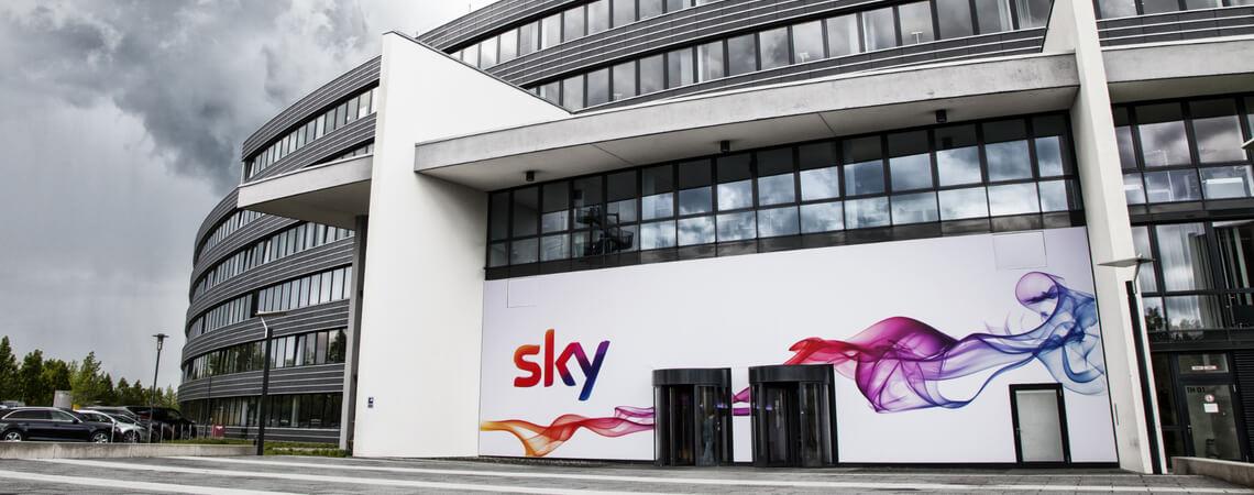 Unternehmenssitz von Sky in Deutschland