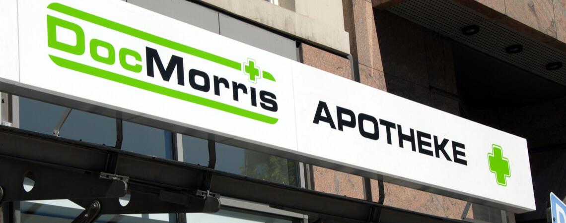DocMorris-Apotheke in Hamburg