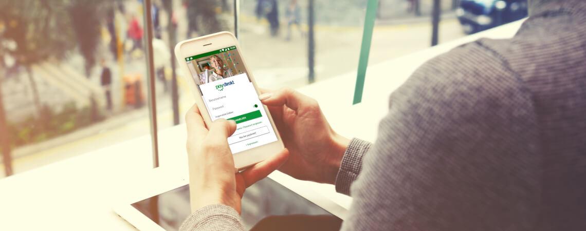 Zahlungsanbieter Paydirekt wird mobil genutzt