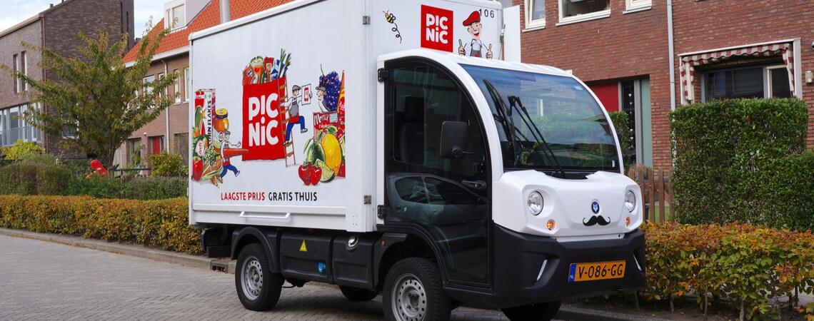 Picnic-Fahrzeug