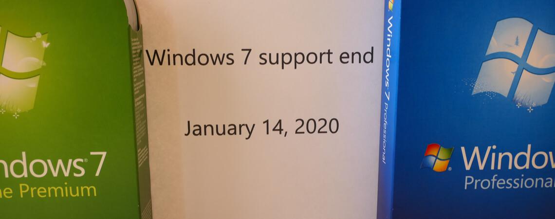 Windows 7 Supportende