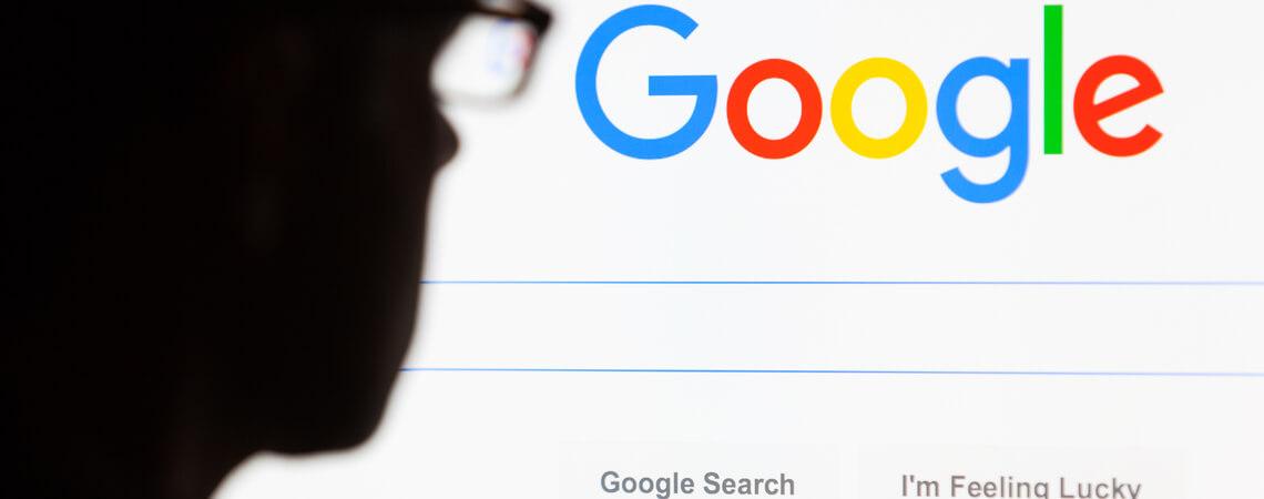 Schatten vor Google