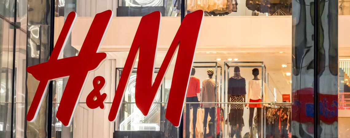 Logo der Modemarke H&M