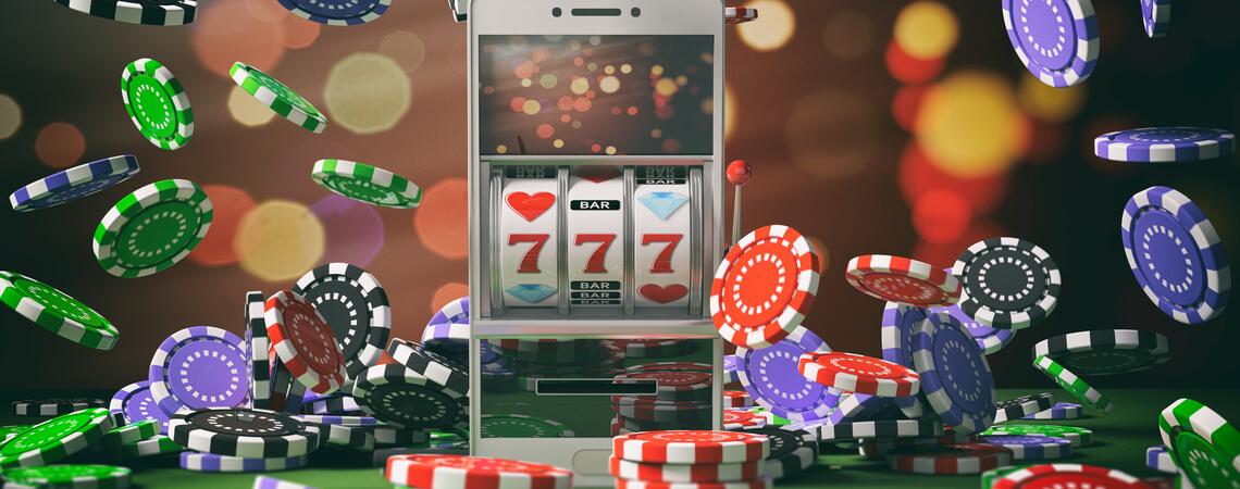 Online-Casino auf Smartphone