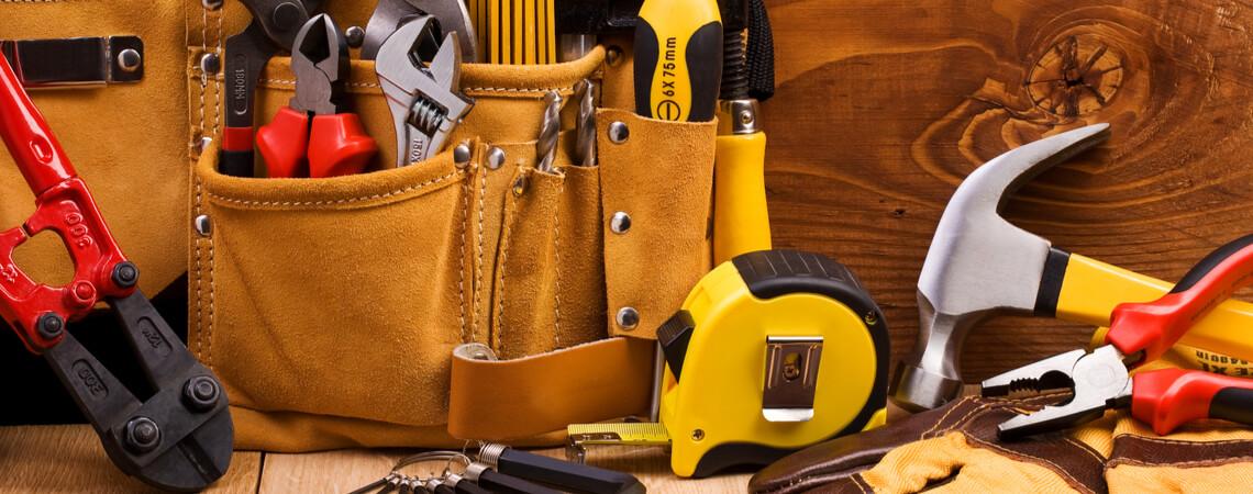 Werkzeuge aus dem Baumarkt