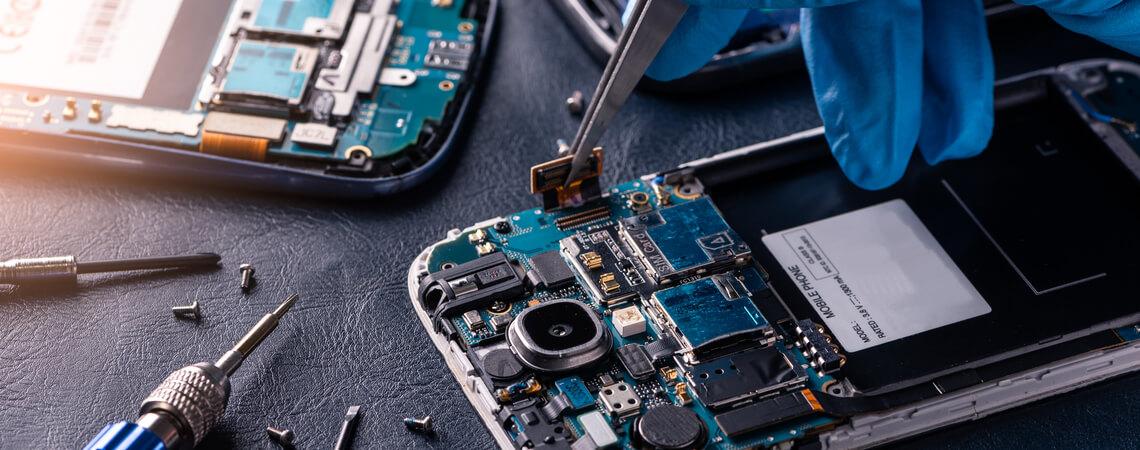 Handy wird repariert