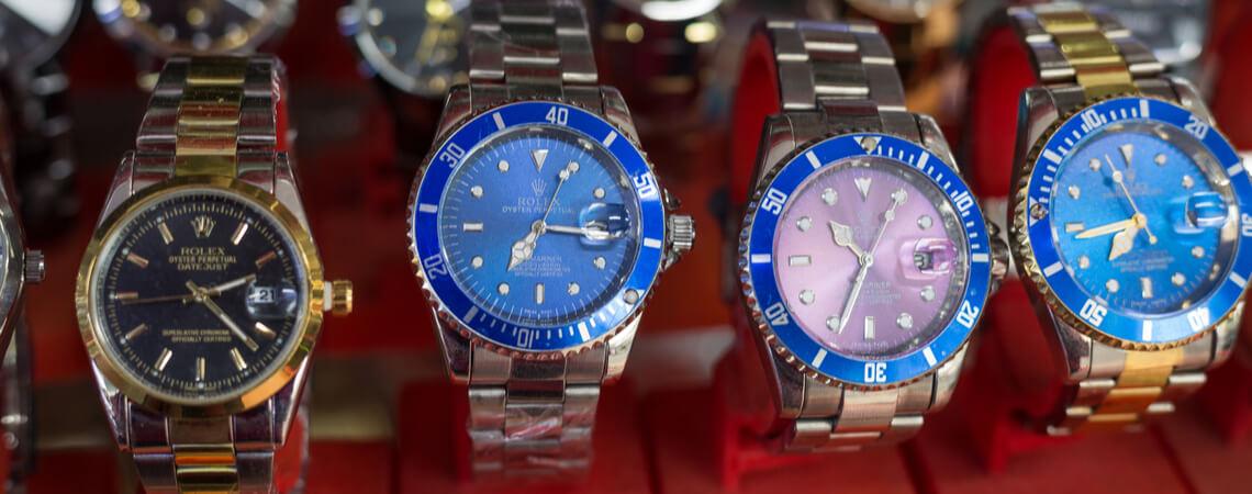 gefälschte Rolex-Uhren