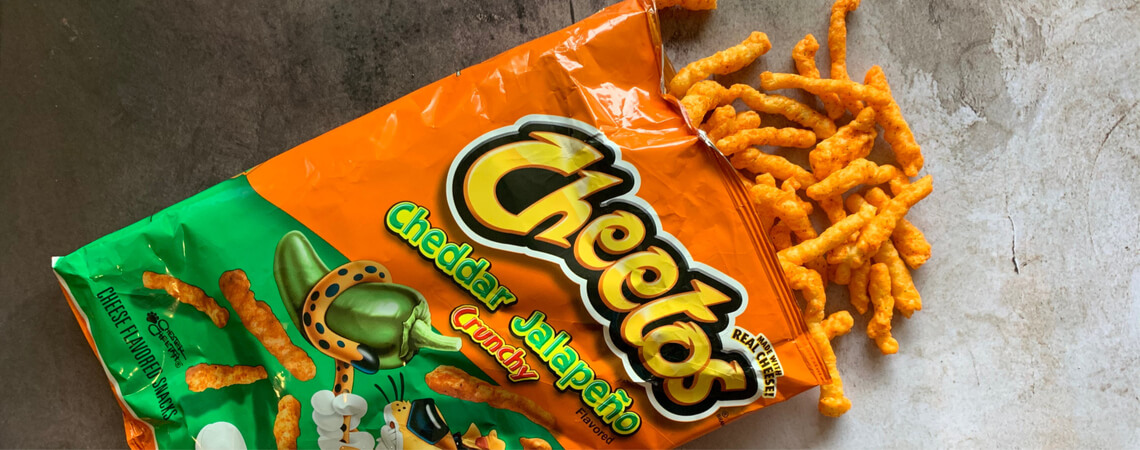 Cheetos-Tüte