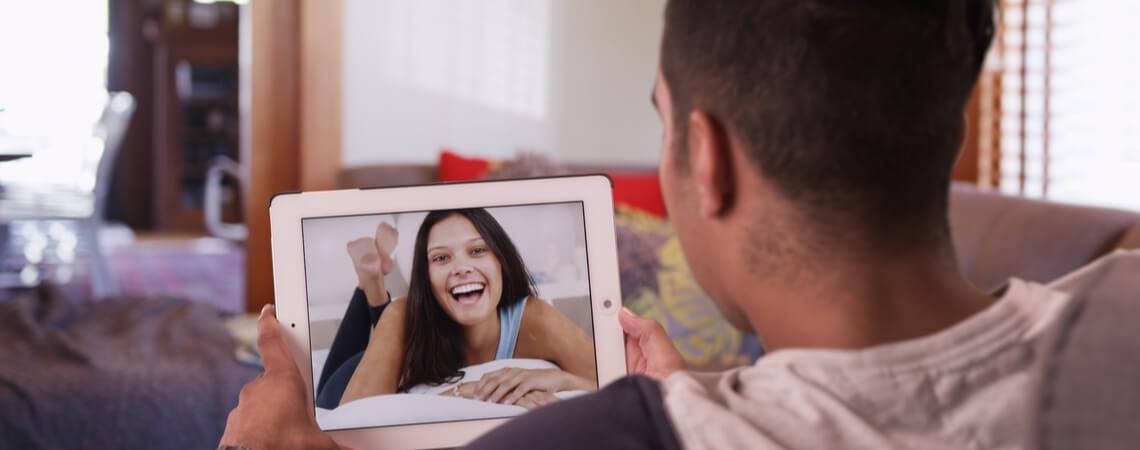Video Dating mit Mann und Frau