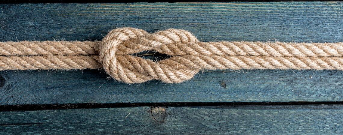 Treue und Zusammenhalt: Nautischer Knoten