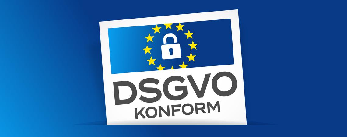 DSGVO-konform Logo