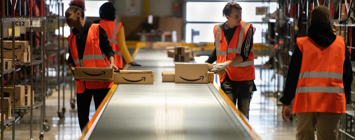 Amazon-Mitarbeiter