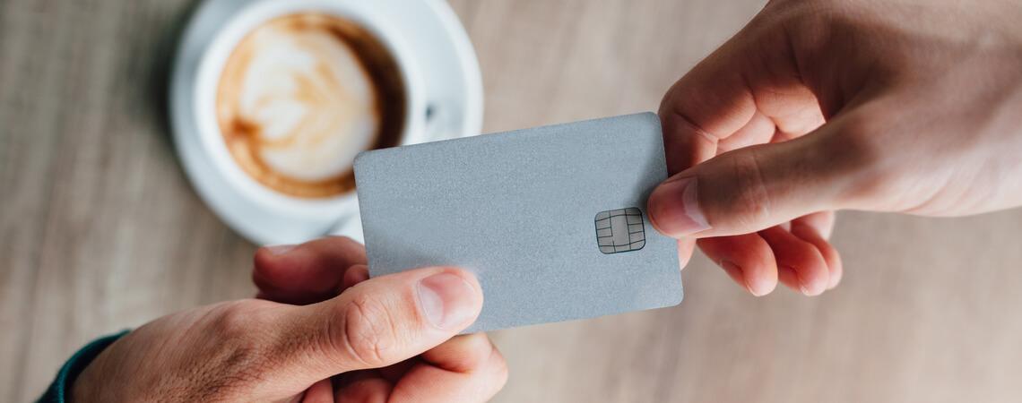 Debitkarte Cafe